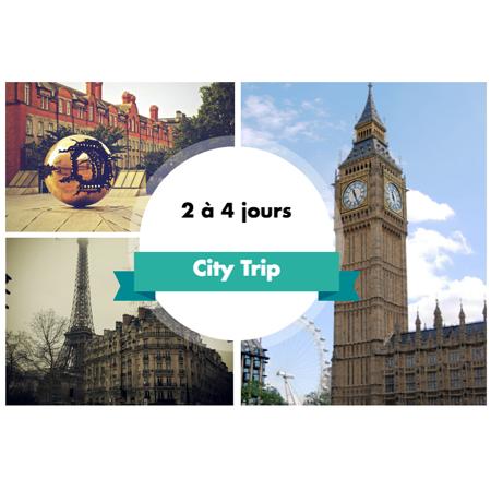 City trip prochain voyage