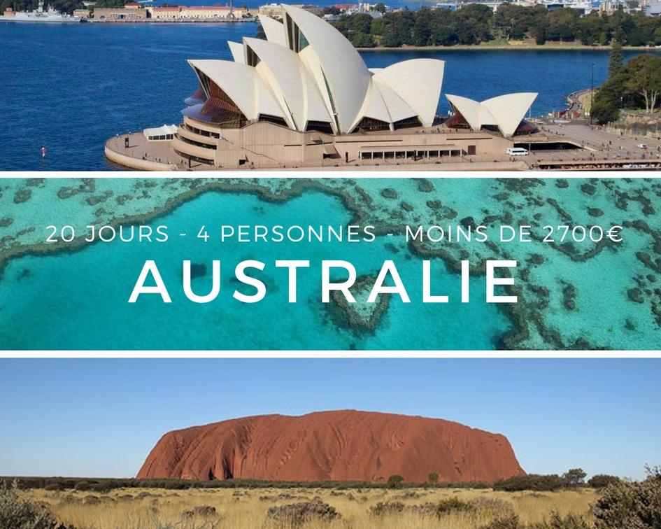 Australie chris 20j 2700e