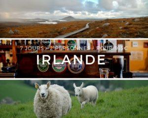 Irlande 7j 2p 915 euros