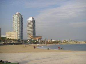 Barcelone plage
