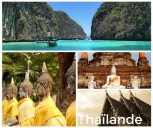 Organisation Voyage Thailande