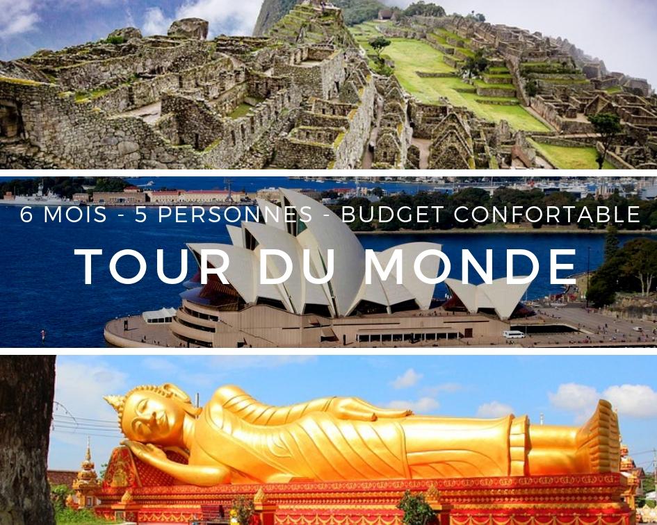 Tour du Monde - 6 mois - famille 5 personnes