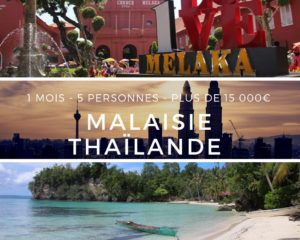 Voyage Malaisie Thailande - 1 mois - 5 personnes